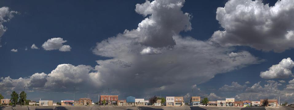 """Danny Singer, Saco Storm Sky, 2013 Archival inkjet print, 44"""" x 71"""""""