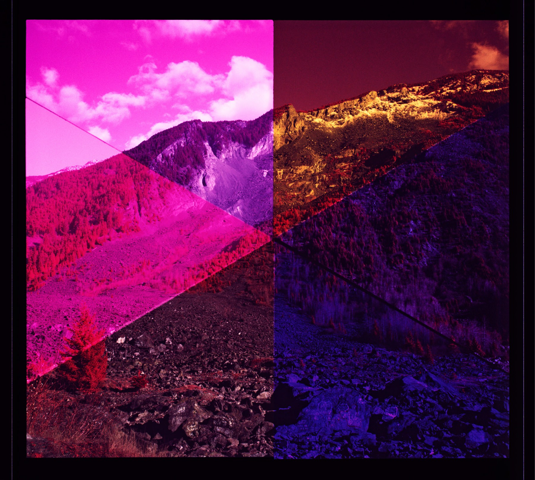 Scotty Massey, Spectrum Study 4 (infrared), 2014