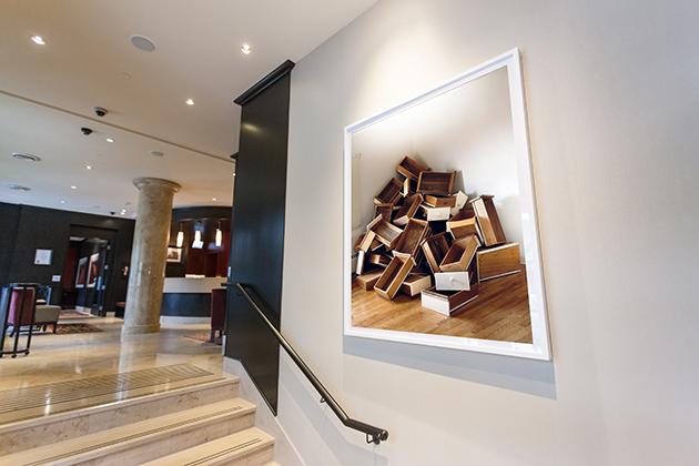 "James NizamPile of Drawers (Memorandoms Series), 2010lightjet print60"" x 48""edition 1/5courtesy of Gallery Jones"