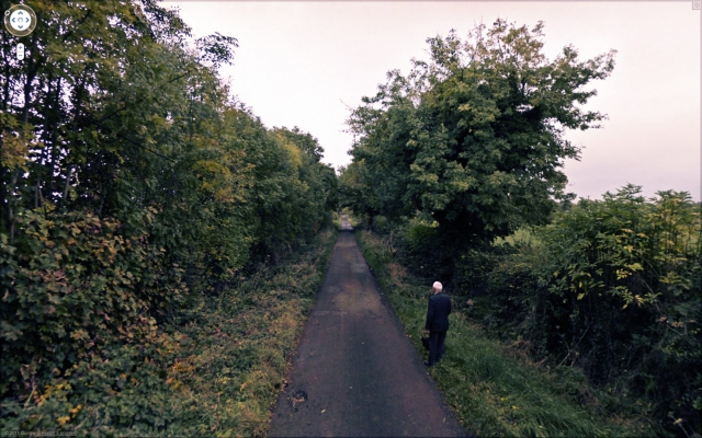 Jon Rafman Unknown Road, Knock Killua, Westmead, Ireland, 2011 From the series The Nine Eyes of Google Street View 2011