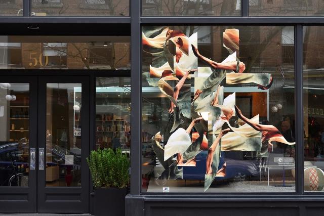 Joseph Staples Falun Series (installation shot) 2017 Photo by Roaming the Planet