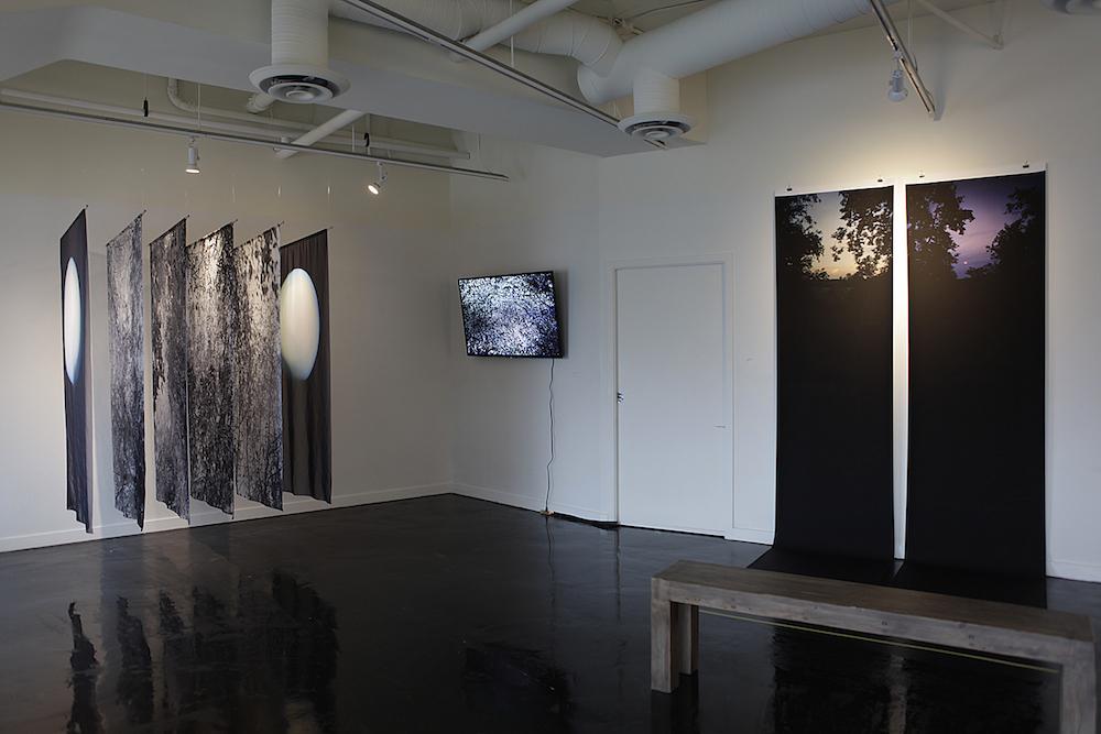 Hua Jin, Moonlight, 2017 Selected Exhibition