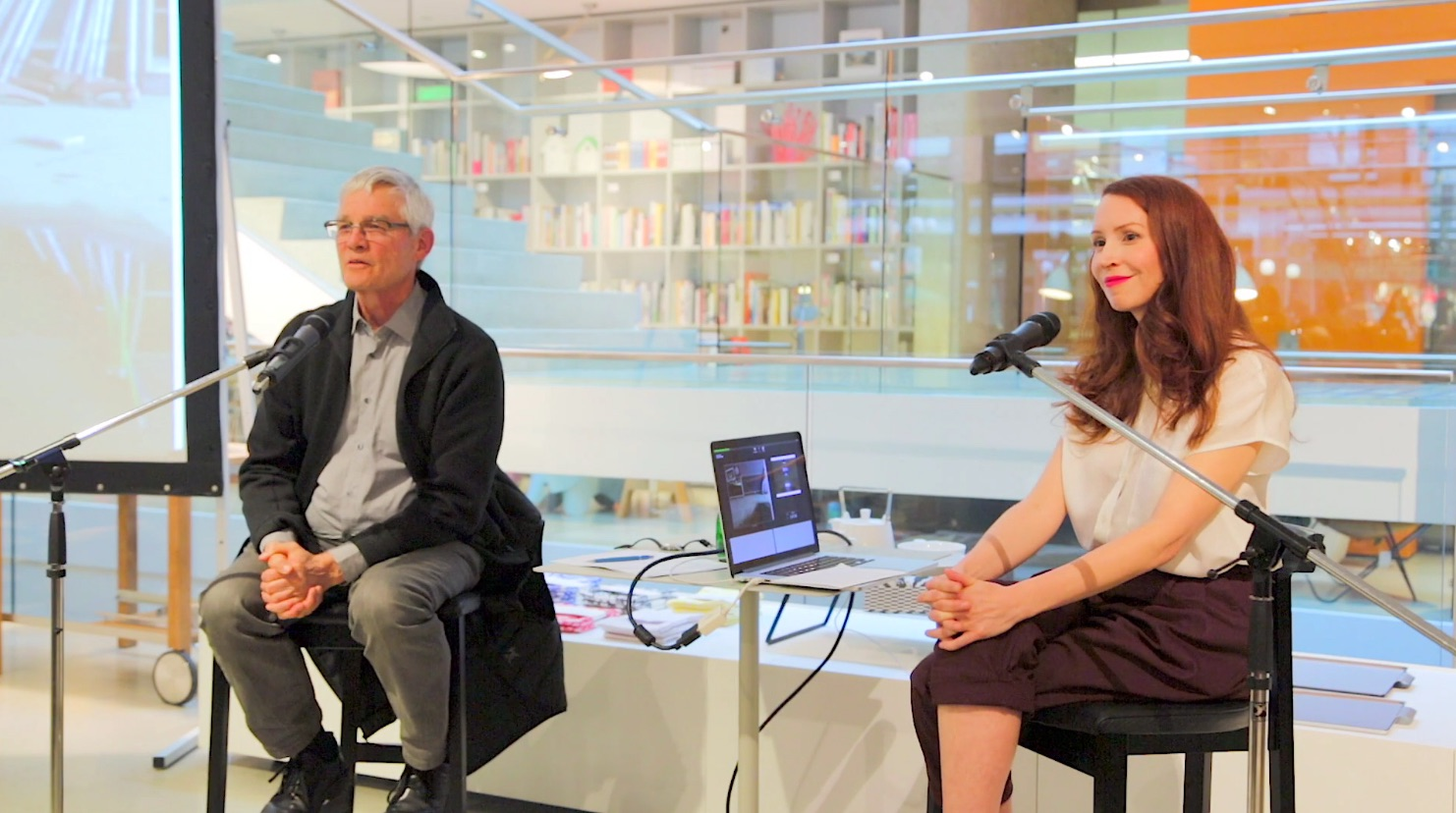 Erin Siddall and John O'Brian Capture Speaker Series still